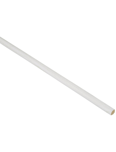 FN NEUHOFER HOLZ Viertelstab, Esche weiß, MDF, LxHxT: 240 x 1,2 x 1,2 cm
