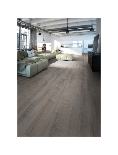Vinyl-Boden »MORE +«, Smoky Oak Pewter, Stärke: 5 mm