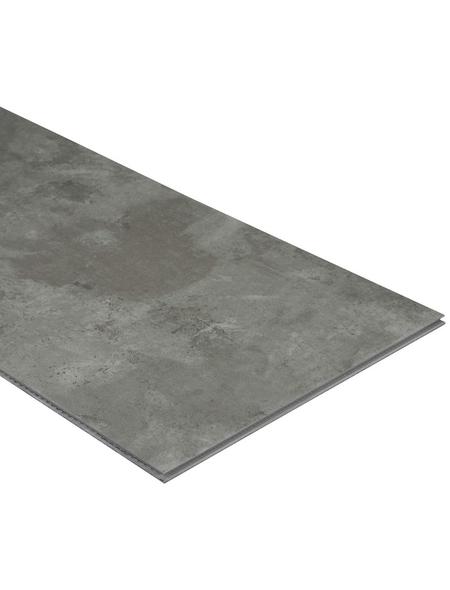 RENOVO Vinyl-Boden »RENOVO«, BxL: 304,8 x 610 mm, grau