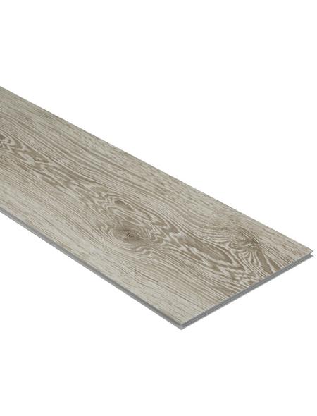 RENOVO Vinyl-Boden »Renovo«, BxLxS: 190 x 1210 x 4 mm, grau
