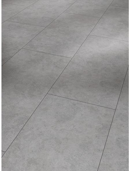 PARADOR Vinyl-Boden »Trendtime 5.30«, BxLxS: 395 x 903 x 9,6 mm, betonfarben
