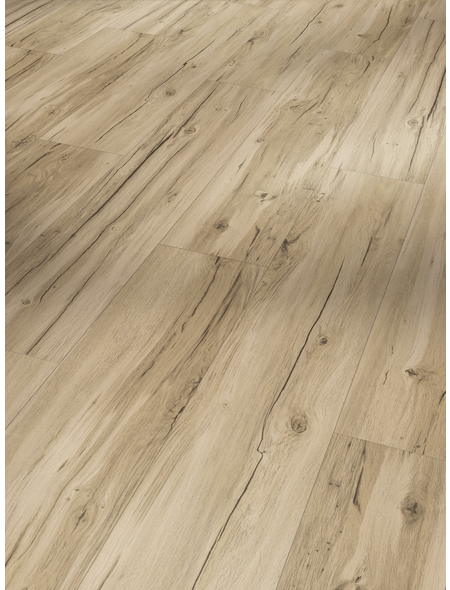 PARADOR Vinylboden »Basic 4.3«, BxLxS: 219 x 1209 x 4,3 mm, braun