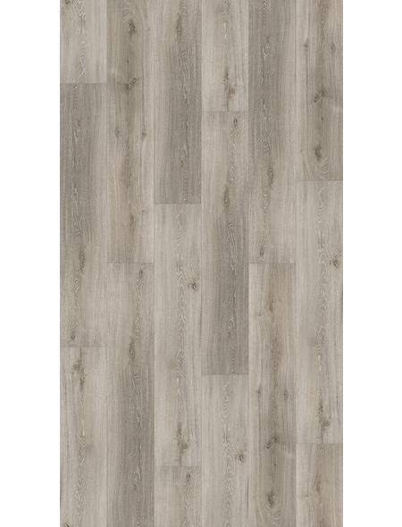 PARADOR Vinylboden »Basic 4.3«, BxLxS: 219 x 1209 x 4,3 mm, grau
