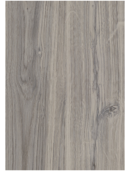 DECOLIFE Vinylboden, Holz-Optik, grau, BxL: 185 x 1220 mm