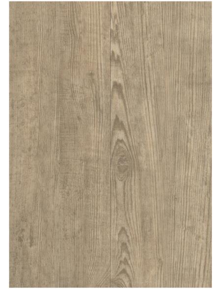 DECOLIFE Vinylboden, Holz-Optik, natur, BxL: 195 x 1225 mm