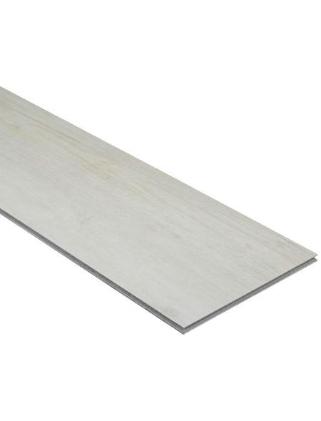 RENOVO Vinylboden »Holznachbildung«, BxLxS: 190 x 1210 x 5 mm, grau