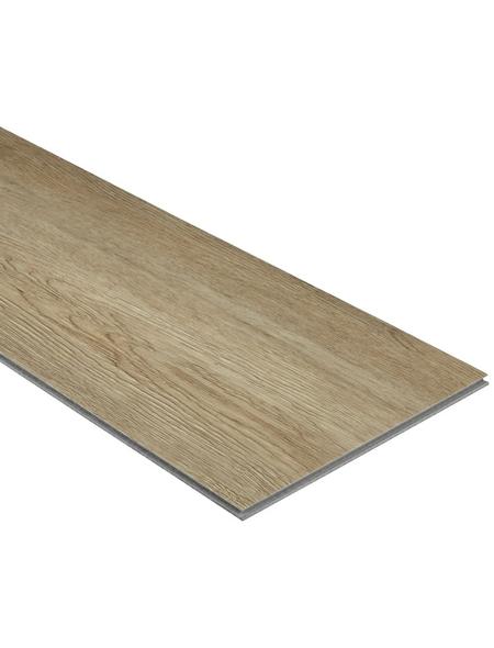 RENOVO Vinylboden »RENOVO«, BxLxS: 230 x 1220 x 5 mm, braun