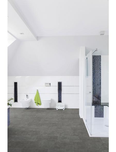 RENOVO Vinylboden »RENOVO«, BxLxS: 304,8 x 610 x 5 mm, grau