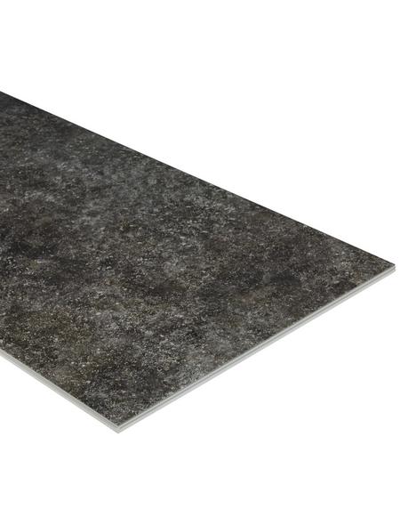 HWZ INTERNATIONAL Vinylboden »SLY LARGE«, BxLxS: 406,4 x 810 x 7,5 mm, grau
