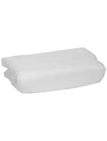 WINDHAGER Vlies, Kunstfaser, weiß, BxL: 1,5 x 10 m