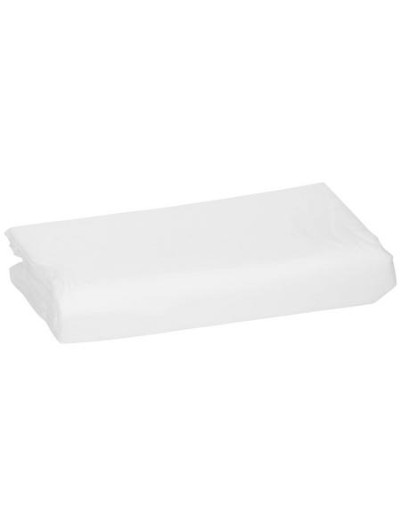 WINDHAGER Vlies, Kunstfaser, weiß, BxL: 1,5 x 5 m