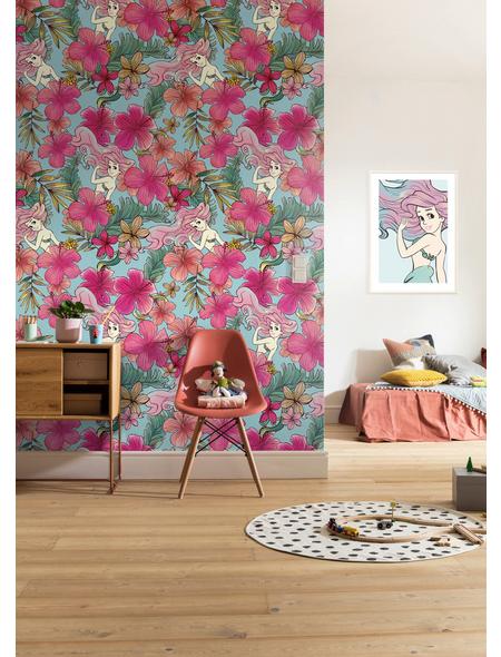 Vliestapete »Ariel Pink Flower«, bunt, glatt