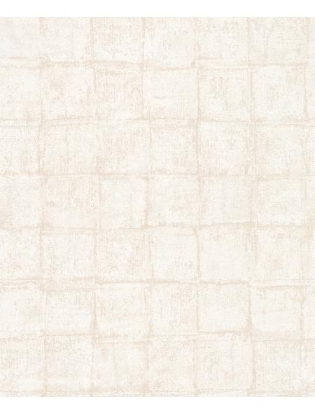 Vliestapete »Casual«, beige, strukturiert