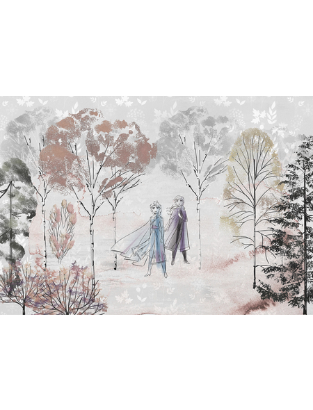 Vliestapete »Frozen Natural Spirit«, bunt, glatt
