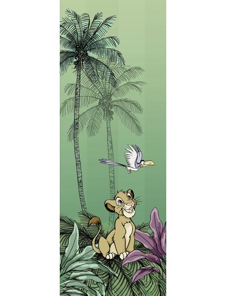 Vliestapete »Jungle Simba«, bunt, glatt