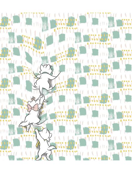 Vliestapete »Kitty Climbers«, bunt, glatt