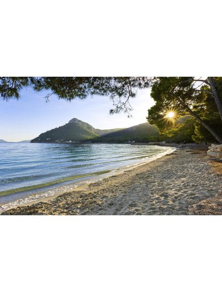 KOMAR Vliestapete »Lonely Paradise«, Breite 450 cm, seidenmatt
