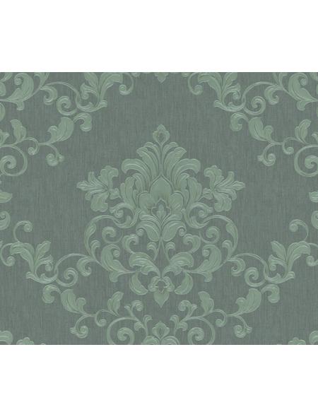 Vliestapete »Opulence Classic«, grün, strukturiert