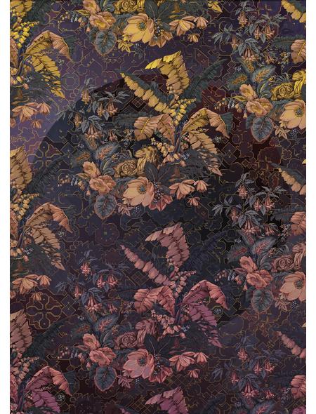KOMAR Vliestapete »Orient Violet«, Breite 200 cm, seidenmatt