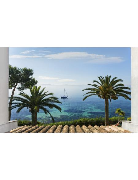 KOMAR Vliestapete »Paradise View«, Breite 450 cm, seidenmatt