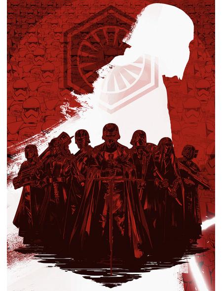 Vliestapete »Star Wars Supreme Leader«, bunt, glatt
