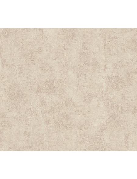Vliestapete »Used Look «, beige, strukturiert, für Feuchträume geeignet