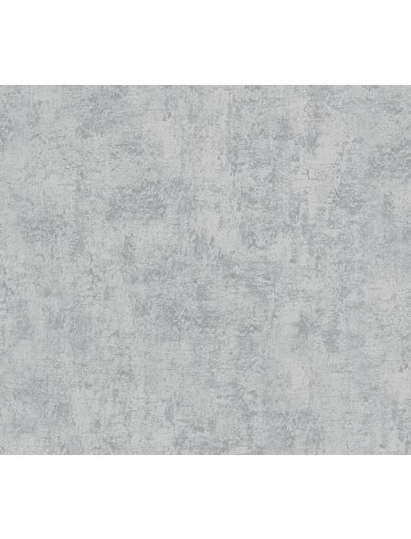 Vliestapete »Used Look «, hellgrau, strukturiert, für Feuchträume geeignet