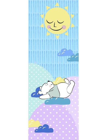 Vliestapete »Winnie Pooh Take a Nap«, bunt, glatt
