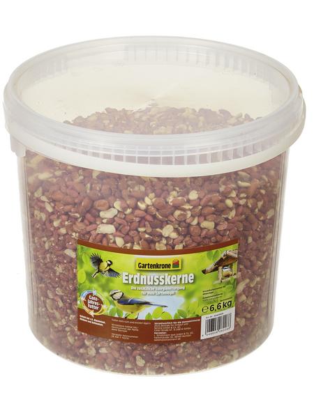GARTENKRONE Vogelfutter »Erdnusskerne«, Erdnuss, 6,6 kg