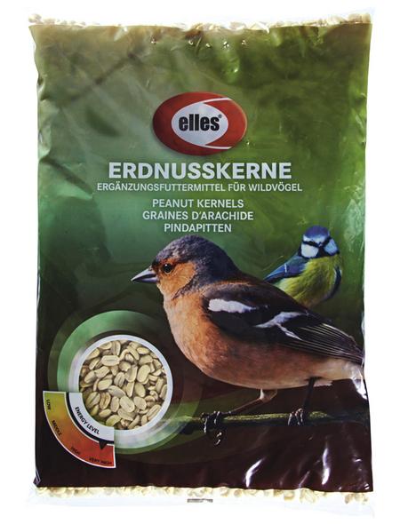 ELLES Vogelfutter »Erdnusskerne«, Erdnuss, 6x2,5 kg