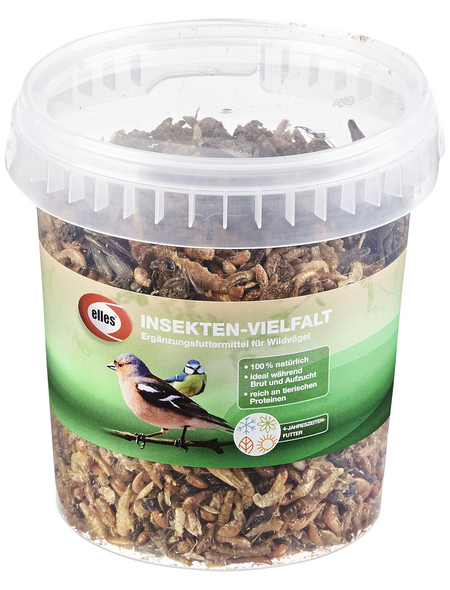 ELLES Vogelfutter »Insekten-Vielfalt«, Insekten, 4x125 g