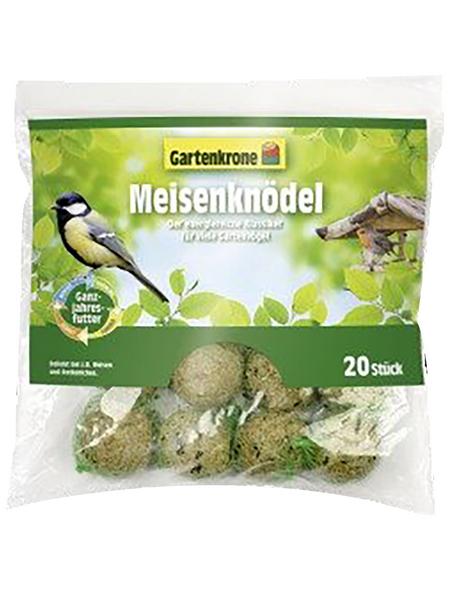 GARTENKRONE Vogelfutter »Meisenknödel«, Koerner / Fett, 1,17 kg