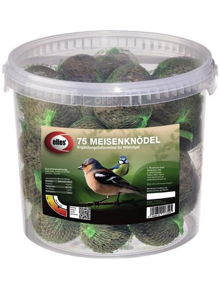 ELLES Vogelfutter »Meisenknödel«, Koerner / Fett, 20x6,75 kg