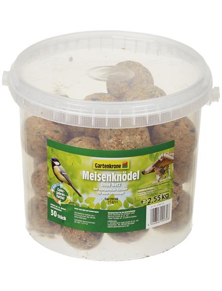 GARTENKRONE Vogelfutter »Meisenknödel ohne Netz«, Getreide, 2,55 kg