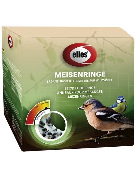 ELLES Vogelfutter »Meisenringe«, Koerner / Fett, 60x200 g