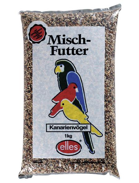 ELLES Vogelfutter »Mischfutter«, Saaten-Mix / Getreide, 15x1 kg