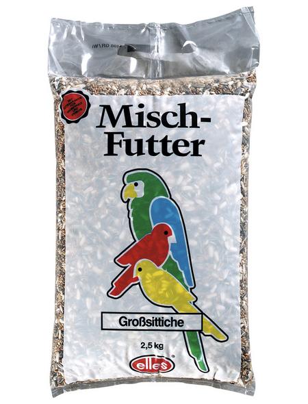 ELLES Vogelfutter »Mischfutter«, Saaten-Mix / Getreide, 6x2,5 kg