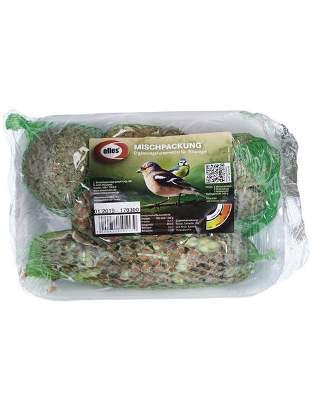 ELLES Vogelfutter »Mischpackung«, Koerner / Fett, 16x440 g