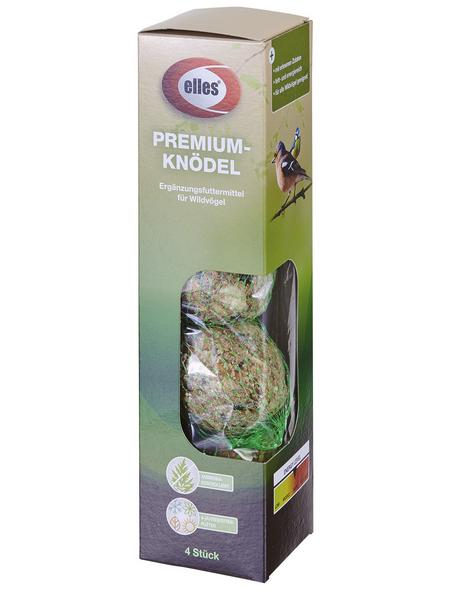 ELLES Vogelfutter »Premium-Knödel«, Koerner / Fett, 48x17,28 kg