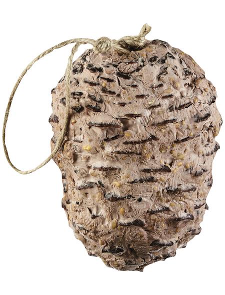 ELLES Vogelfutter »Riesen-Pinienzapfen«, Erdnuss, 25x350 g
