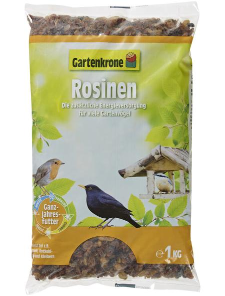 GARTENKRONE Vogelfutter »Rosinen«, Inhalt: 1000 g