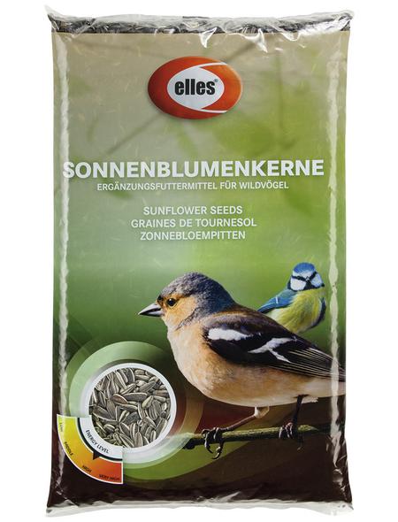 ELLES Vogelfutter »Sonnenblumenkerne«, 5 Beutel à 2500 g