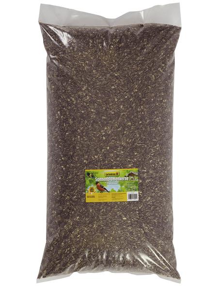 GARTENKRONE Vogelfutter »Sonnenblumenkerne«, Sonnenblumenkerne, 20 kg