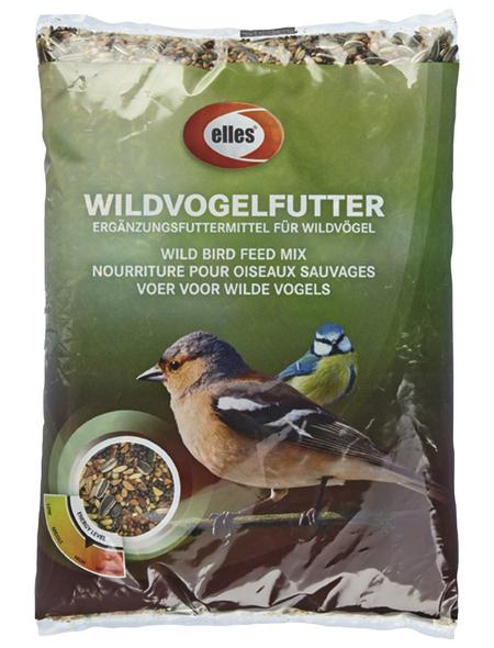 ELLES Vogelfutter »Wildvogelfutter«, Mix, 15x1 kg