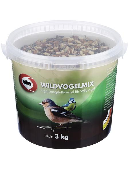 ELLES Vogelfutter »Wildvogelmix«, 1 Eimer à 3000 g