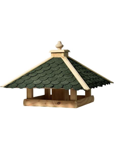 DOBAR Vogelfutterhaus mit Futtersilo