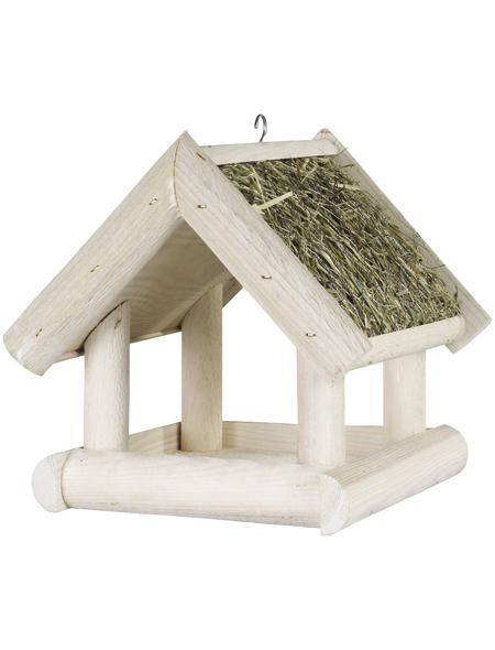 PATKAR Vogelhaus, Holz, weiß, hängend
