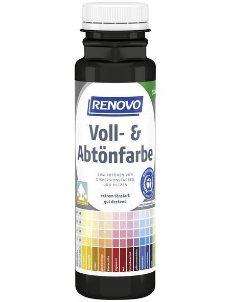 RENOVO Voll- und Abtönfarbe, anthrazit, 250 ml