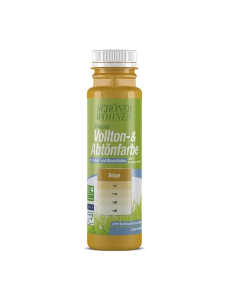 SCHÖNER WOHNEN FARBE Voll- und Abtönfarbe, beige, 250 ml