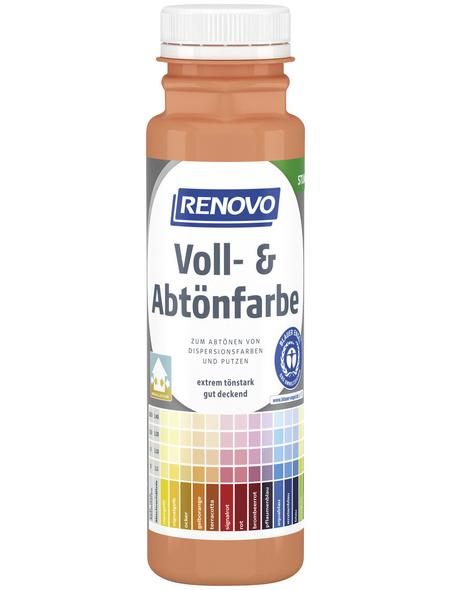 RENOVO Voll- und Abtönfarbe, gelb|orange, 250 ml